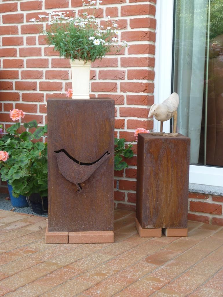 pflanzentopf 2 garten deko leistungen edelstahl und metallbau schlosserei balsmeier. Black Bedroom Furniture Sets. Home Design Ideas