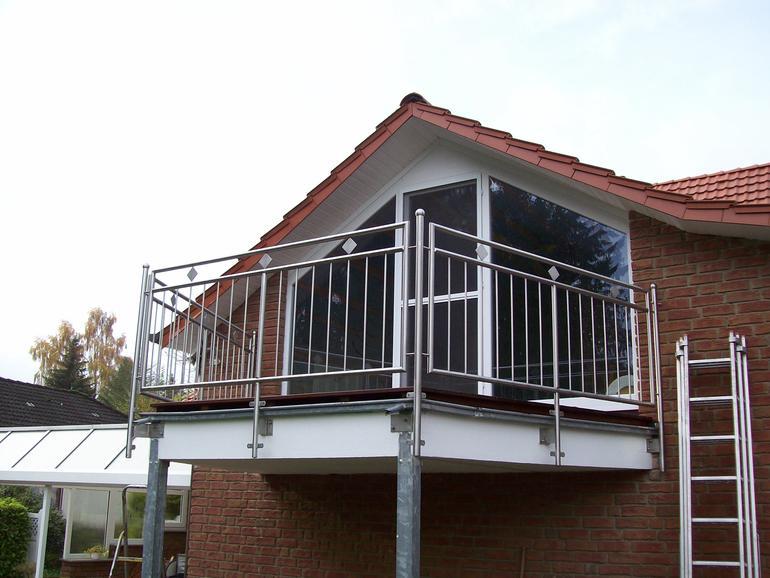 balkone leistungen edelstahl und metallbau schlosserei balsmeier. Black Bedroom Furniture Sets. Home Design Ideas
