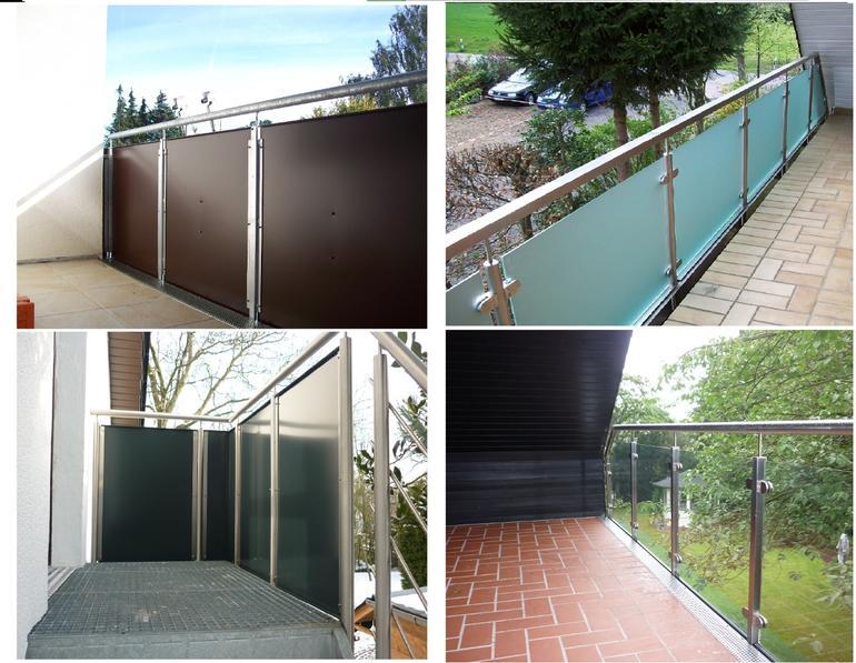 franzsische balkone edelstahl glas das beste aus. Black Bedroom Furniture Sets. Home Design Ideas